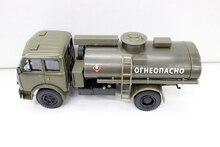 1:43 MAZ AC-8 Russia Fuel tank car Transport vehicle model Alloy automobile model