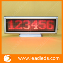 5 Sets Lot Red Led Moving Message Sign Usb Rechargeable Programmable Led Display Board