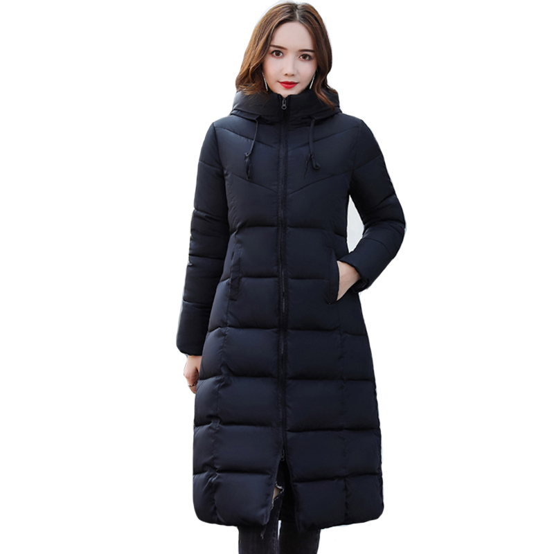 High Quality Warm Thicken Winter Jacket Women Womens Jackets Winter Hooded Warm Thicken Female Coat Long   Parka   2019 New