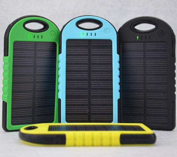 Bateria Solar 5000 Mah Recargable Usb