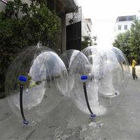 Бесплатная доставка завод прозрачный прогулки на водяной шар, надувной шар для ходьбы по воде, Зорб мяч для бассейна