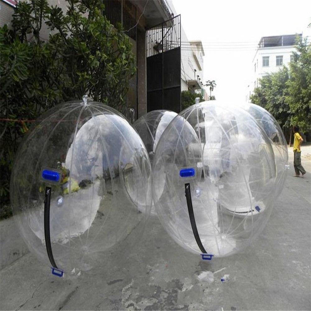 Livraison gratuite usine transparente marche sur boule d'eau, boule de marche gonflable de l'eau, boule de Zorb pour piscine d'eau