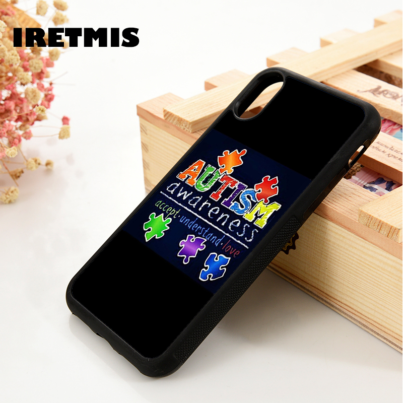 Fitted Cases Inventive Iretmis 5 5s Se 6 6s Soft Tpu Silicone Rubber Phone Case Cover For Iphone 7 8 Plus X Xs Max Xr Autism Awareness Puzzle 2019 Official Phone Bags & Cases
