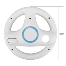 2018 Plastic Kart Racing Steering Wheel For Nintendo Wii Games Remote Controller Console for Super Mari o Kart Game Accessories