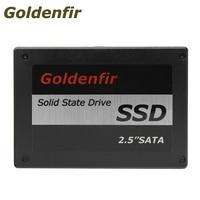 Goldenfir 2.5 SATA2 SATA3 SSD de 60 GB 16 GB 240 GB SSD de 120 GB disco rígido de estado sólido interno para Notebook Computador