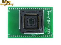 1.27mm Pitch PLCC44 TO DIP44 Yamaichi IC Programming Socket Adapter for PLCC44 Package Chip/MCU