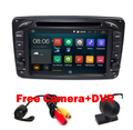 In Stock ANDROID 5.1 CAR DVD PLAYER For Mercedes/Benz/W209/W203/W168/M/ML/W163/W463/Viano/W639/Vito/Vaneo Wifi GPS BT Radio