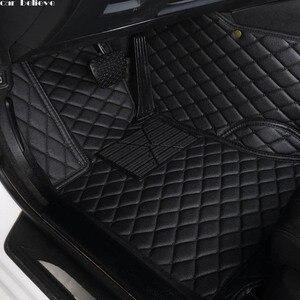 Image 1 - Araba inanıyorum araba kat ayak mat Dodge Journey kalibre Avenger Challenger şarj am 1500 nitro su geçirmez araba aksesuarları