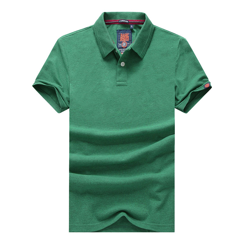 XXXL Summer Men's Solid Color Cotton Polo Shirts Brand Fitness Tops Tees Short Sleeve Shirts Casual Wine Red Men Polo Shirts (33)