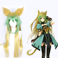 2019 Hot Anime Fate/Apocrypha Atalanta Cosplay Wigs 100cm Long Heat Resistant Synthetic Hair Perucas Cosplay Wig