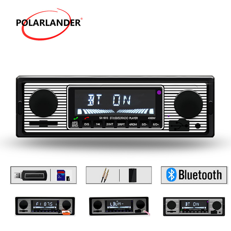 Us Stock1 Din Car Radio Size Stereo Fm And Mp3 Player: 2018 Newest USB FM MP3 Player Audio Stereo 1 Din Remote
