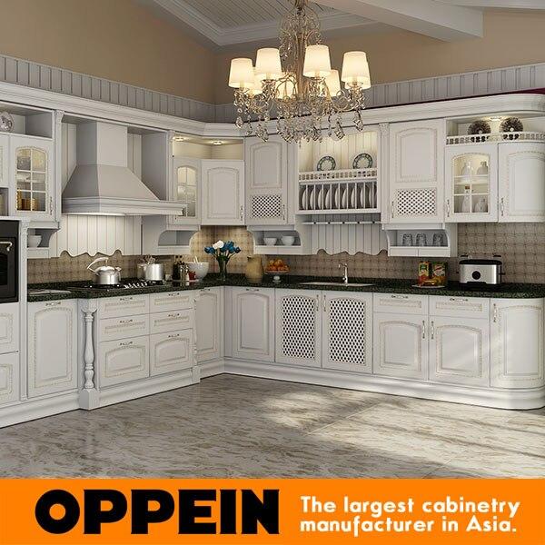 2016 nuovo design classico in legno massello armadio da cucina nuova vendita superiore betulla mobili da cucina in legno massicc