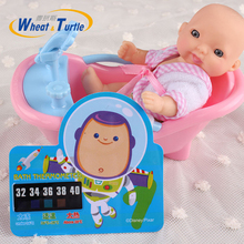 2pcs/Lot 2017 New Baby Bath Shower Thermometer Toy Infant Boys Baby Bathe Bathing Cartoon Animal Temperature Toy Thermometer