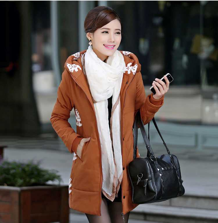 ФОТО 2015 New Hot Sale Middle-Age Winter Jacket Women Warm Wadded Jackets Mother Clothing Cotton-Padded Winter Coat Women H4511