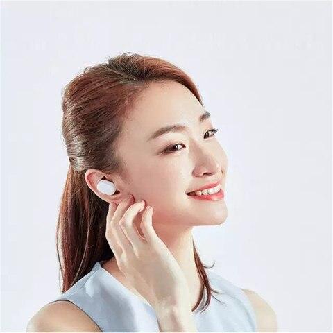 Xiaomi Mi AirDots Bluetooth Earphone Youth Version Mijia TWS Stereo Wireless Headset Bass Headphone Headset With Mic Handsfree Multan