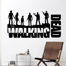 Romantic walking dead Wall Stickers Decorative Sticker Home Decor For Kids Room Decoration Removable Decals