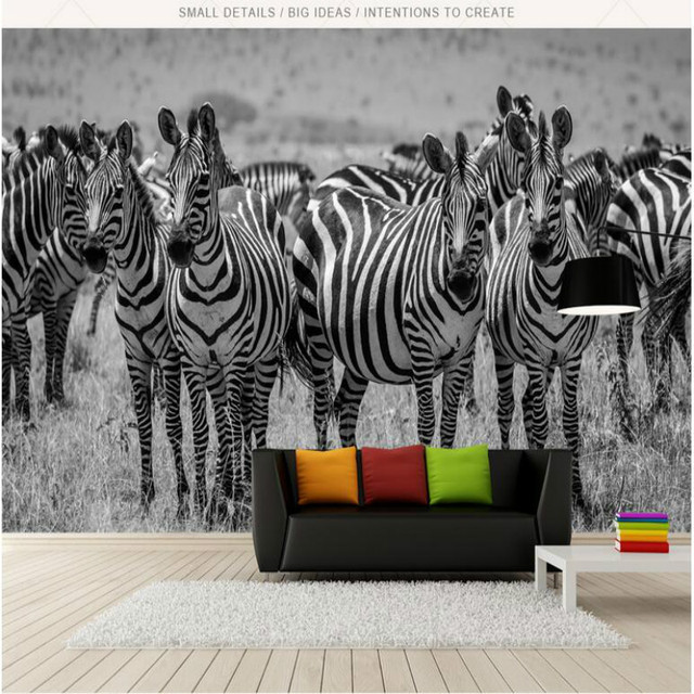 Us 25 0 Modern Simple Retro Black White 3d Wall Paper Decorative Painting Wallpaper For Wall Home Improvement 3d Wallpapers Living Room In