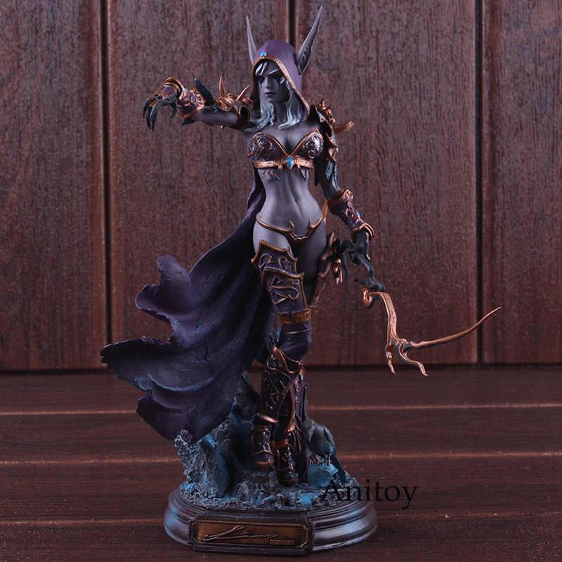 Cataclismo Figuras de Jogos 22 centímetros Sylvanas Windrunner Action Figure Collectible Modelo Toy PVC