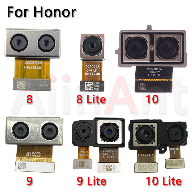 Original Big Rear Camera Flex Cable For Huawei Honor 6 7 7A 7X 7C 8 8X 9 9i 10 20 Lite Plus Main Back Camera Flex Phone Parts
