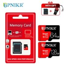 Карта памяти класса 10 8 ГБ 16 ГБ 32 ГБ карта micro sd 64 Гб 128 ГБ tarjeta microsd 32 Гб мини карта памяти TF 4 Гб флэш-накопитель с бесплатным адаптером