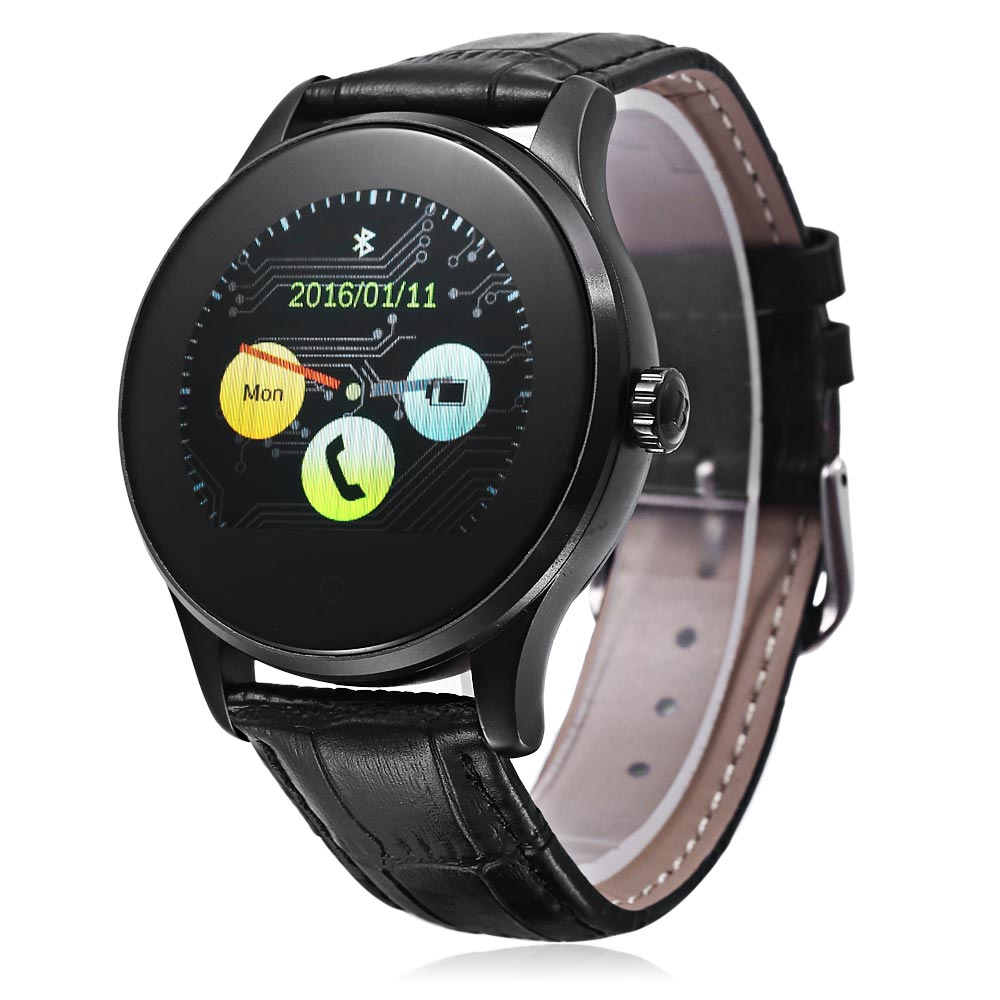 2017 New Original K88H Smart Watch IPS Screen Heart Rate Monitor MTK2502 Bluetooth smartWatch Pedometer Dialing For IOS Android велосипед stels navigator 670 md 2016
