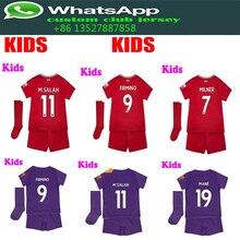 3831a503d 2018 2019 Liverpooles kids kit+sock soccer Jerseys camisetas shirt  tracksuit child Football shirt size