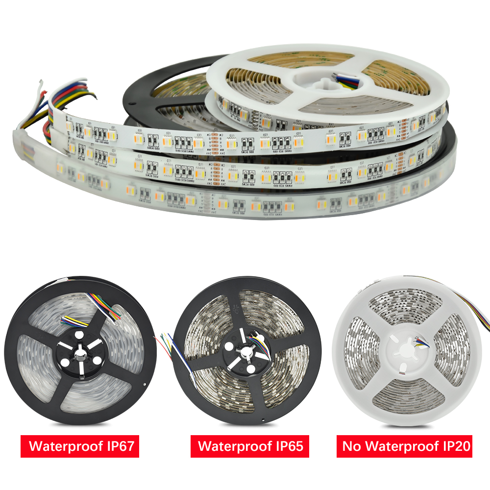 Outdoor 12 Volt 60leds Meter Led Strip Smd 5050 Rgb: Aliexpress.com : Buy New Arrivals RGB+CCT LED Strip 5050