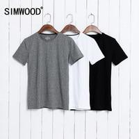 Summer Brand Men S Short Sleeved Cotton T Shirt Men Shirt Solid Color Casual O Neck