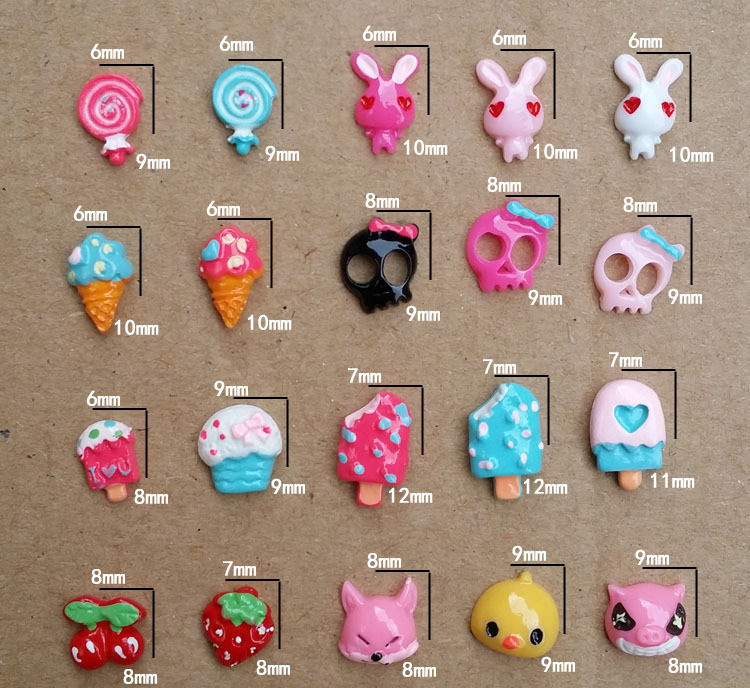 Mix order 07 3d ice cream design resin nail art diy nail mix order 07 3d ice cream design resin nail art diy nail stickers decals mini nail art decorations in stickers decals from beauty health on prinsesfo Gallery