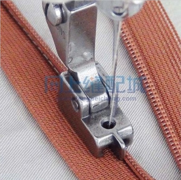 SEWING MACHINE SPARE PARTS & ACCESSORIES HIGH QUALITY SEWING PRESSERFOOT S518NS ZIPPER PRESSER FOOT