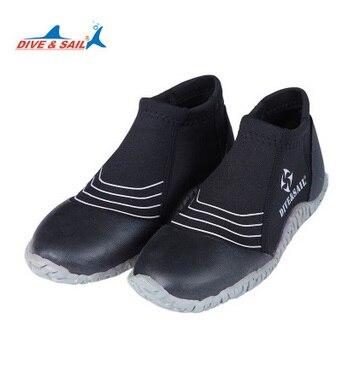 3 MM bottes basses chaussures antidérapantes Surf plage plongée et natation chaussures Surf plage plongée néoprène caoutchouc chaussettes de bain palmes