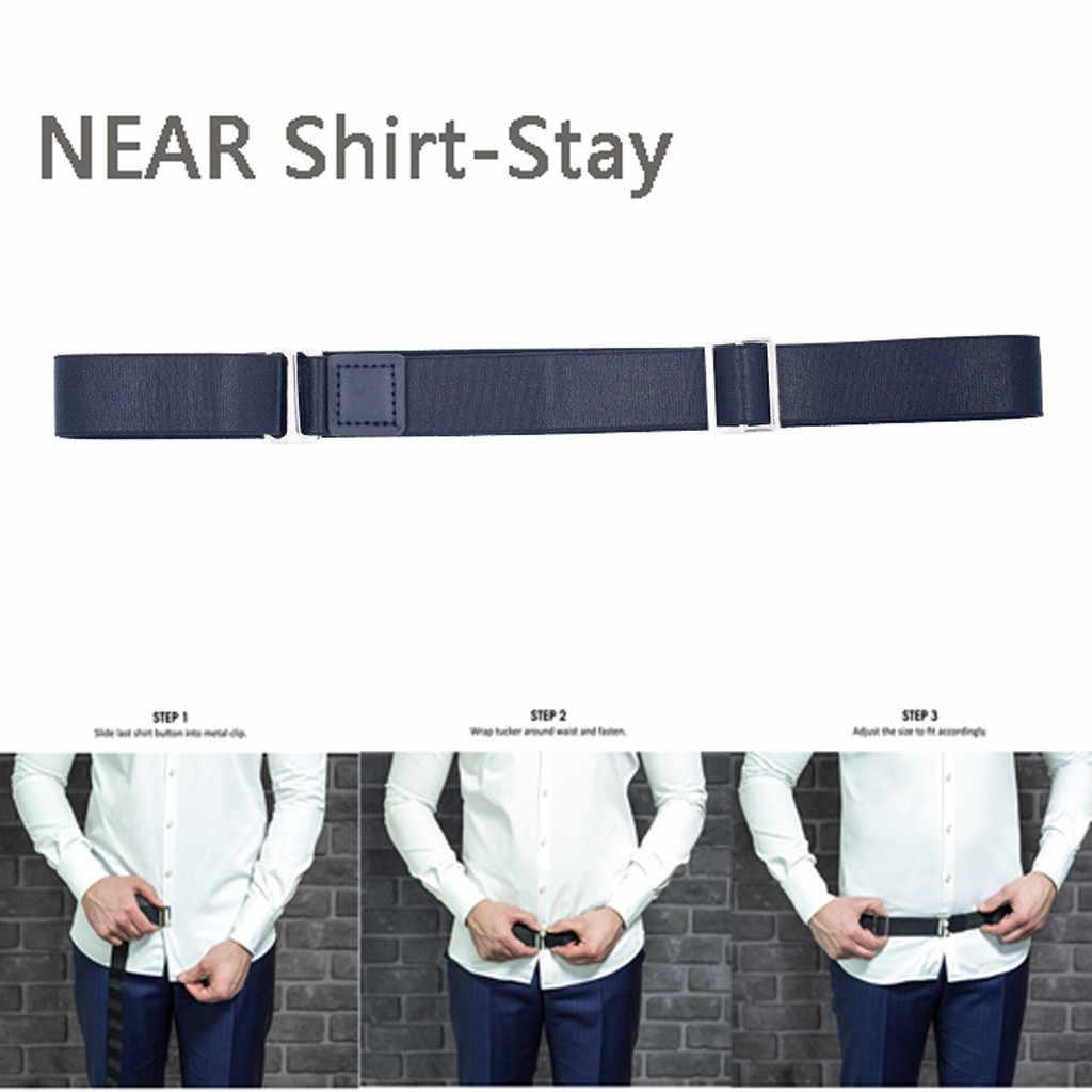 Рядом рубашка-оставайтесь лучшей рубашкой остается черный Tuck It рубашка с поясом заправленная мужская рубашка