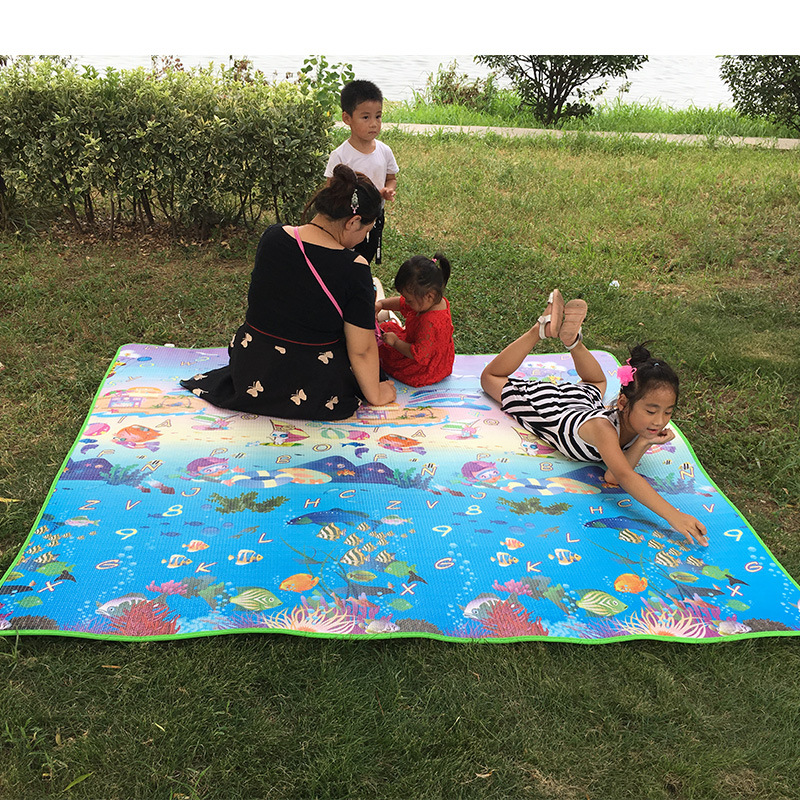 Baby Toy Crawling Puzzle Thin Play Mats 200*180*0.5CM Two Sided Infant Climb Pad Thick Play Juguetes Bebe Carpet