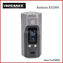 Original Wismec Reuleaux RX200S TC 200 W Caja Mod Pantalla OLED con Firmware Actualizable Reuleaux RX200S