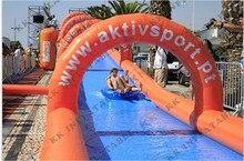 Горячие продвижение модные коммерческих надувные водные скольжения н слайд из КК производителя