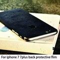 Pomer volver protector de pantalla para iphone 7 7 plus trasera cubierta suede volver película protectora película protectora pegatinas película decorativa