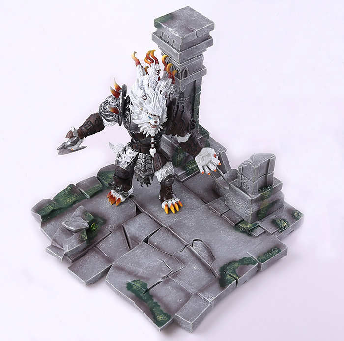 27cm Game Proud of the stalker Rengar action figure collectible model toys for boys bpd be proud of this dress пуховик