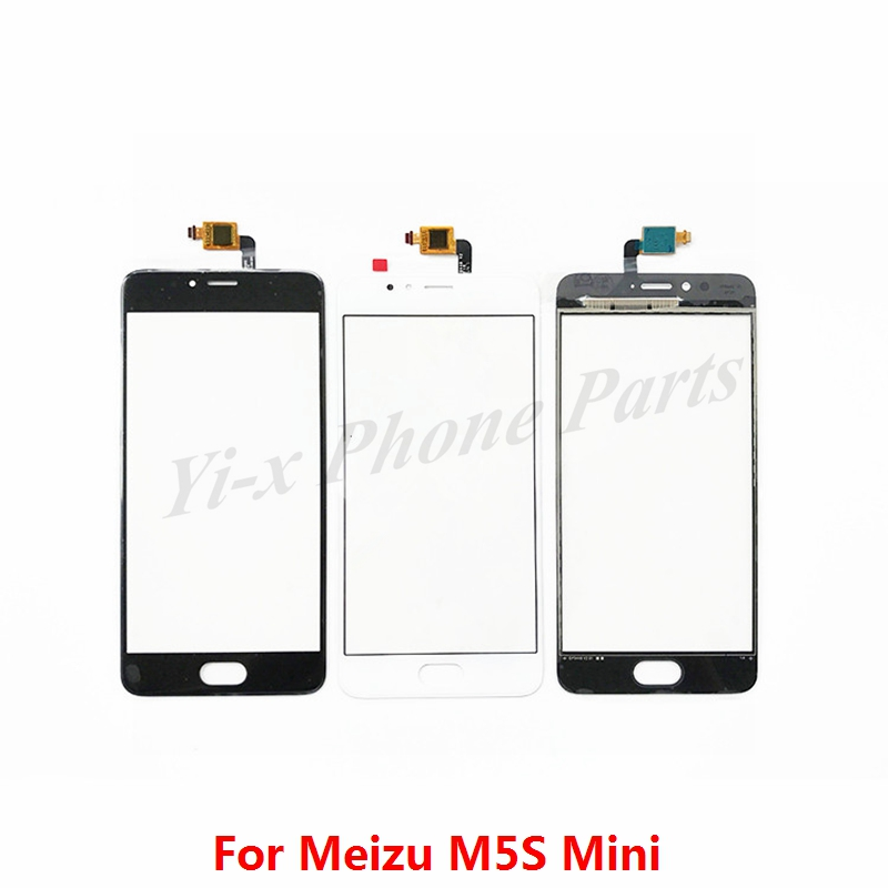 1pcs For MEIZU M5S Mini Touch Screen Digitizer Glass Panel Meilan 5S Mobile Phone Replacement Parts