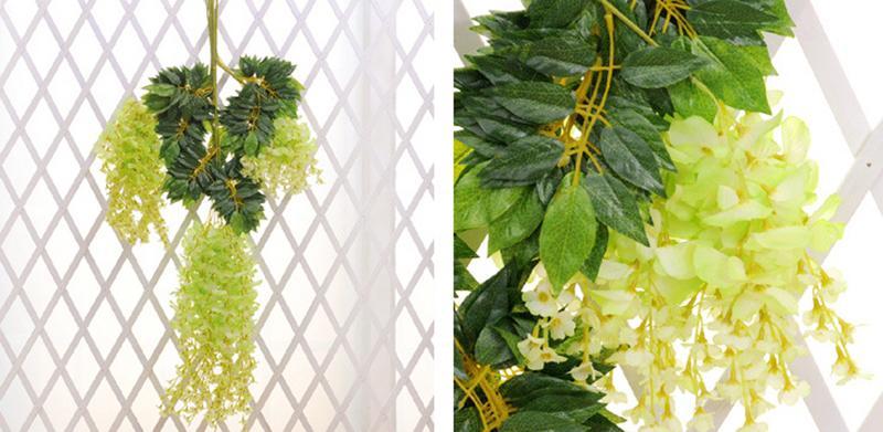 Hochzeitsfest bevorzugt künstliche Blumen 1.1M Silk Blumen-elegantes - Partyartikel und Dekoration - Foto 6