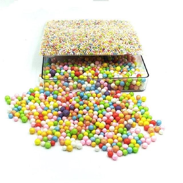 8MM 1Pack Assorted Colors Crafts Styrofoam Ball Polystyrene Filler ...