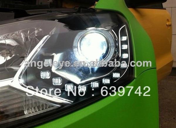 VW Xaç Polo LED Projektor Lensli 2011-2013 il LD ilə - Avtomobil işıqları - Fotoqrafiya 2