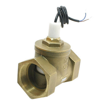 SEN-HS50 70W 150L/Min 2PT In-line Adjustable Piston Water Flow Switch Flowmeter sen hs32 70w 150l min 39mm in line adjustable piston water flow switch