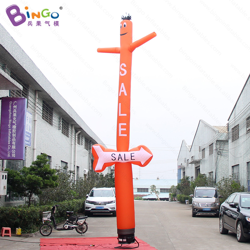 Personalized 20 feet orange air dancer inflatable wave / air dancer inflatable with arrow for decoration toysPersonalized 20 feet orange air dancer inflatable wave / air dancer inflatable with arrow for decoration toys