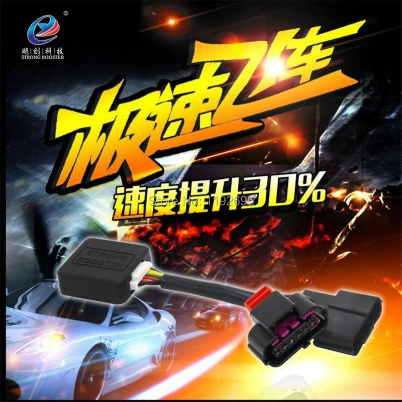 ФОТО Car parts Strong Booster motor accelerator ECM Controller for Volkswagen Caddy Skoda Superb Tiguan CC Scirocco VW R36 New Phaeto