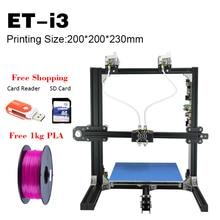 2017 heißer Verkauf 3D Drucker Multifunktions 200*200*230mm Big Körperbau Größe Bildung Verwenden Englisch Sprache Öffnen quelle Ende