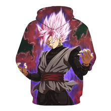 Dragon Ball Z 3D Hoodies Pullover Plus Size