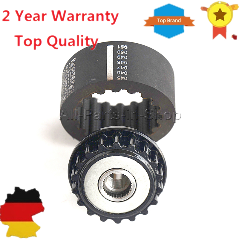 1 x Alternator Freewheel Clutch + 1 x Coupling Sleeve for VW Phaeton Touareg Multivan Transporter Cayenne F00M991286,740820805