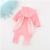Meninas primavera Outono Conjuntos de Roupas de Algodão Hoodies + Calças Padrão de Coelho Da Orelha de Coelho 2 pcs Encantadores das Crianças Sets