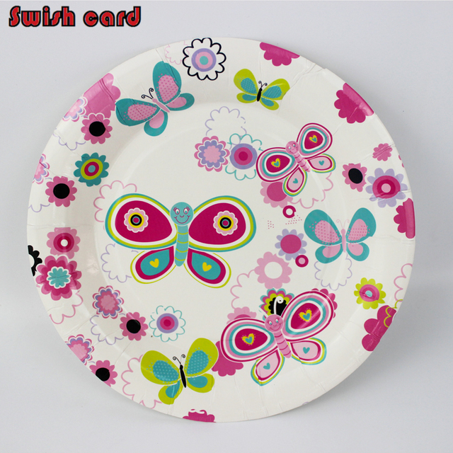 6pcs/lot 7inch birthday party paper plates lovely little bee baby shower kids event and  sc 1 st  AliExpress.com & 6pcs/lot 7inch birthday party paper plates lovely little bee baby ...