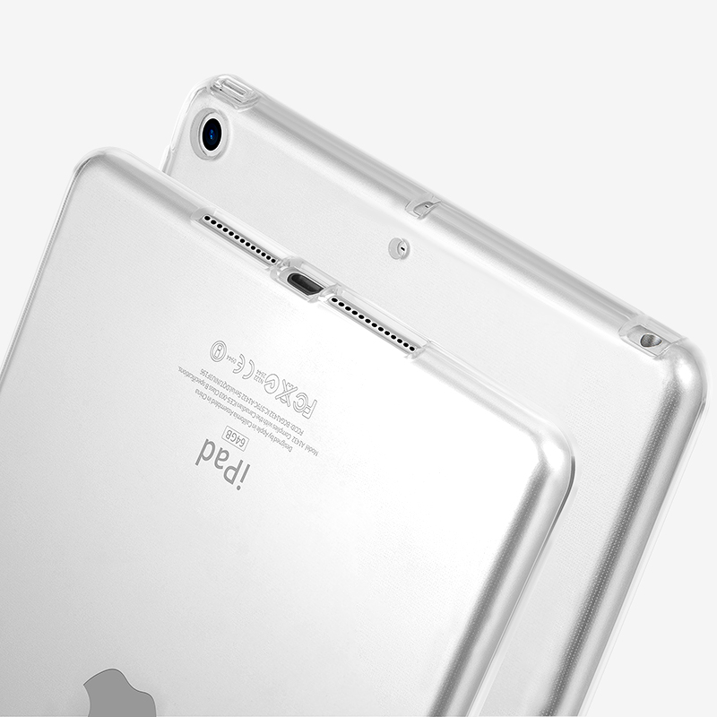Clear Crystal Soft TPU Case for New iPad Pro 10.5 2017 Case for iPad Air 2 Pro 9.7 Protective Case for iPad Mini 2 3 4 Cover case for ipad air 2 pocaton for tablet apple ipad air 2 case slim crystal clear tpu silicone protective back cover soft shell